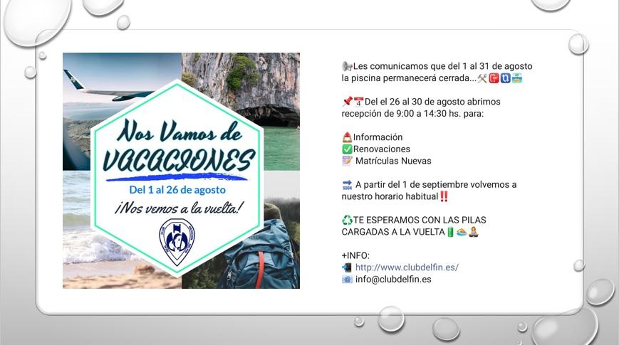CARTEL VACACIONES WEB